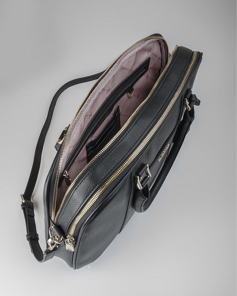MADISON Trudi Slim Line Laptop Bag - Black