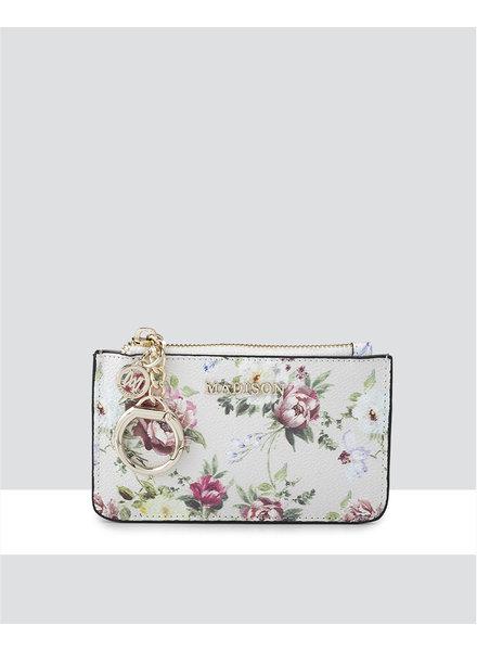 MADISON Vivienne Zip Purse w/ Card Slots - Botanic Floral