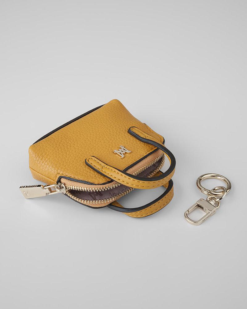 MADISON Mala Mini Satchel Coin Purse - Yellow