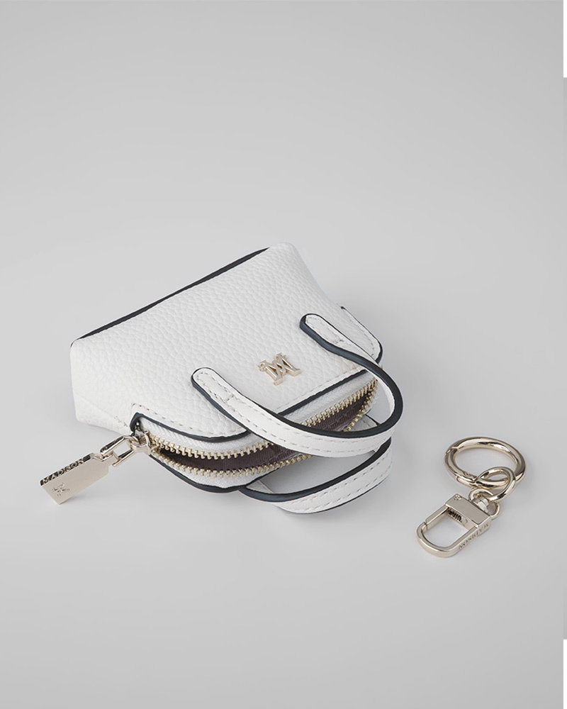 MADISON Mala Mini Satchel Coin Purse - White