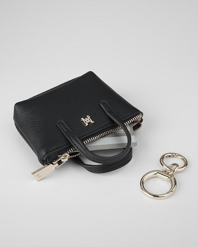 MADISON Millie Mini Tote Coin Purse - Black