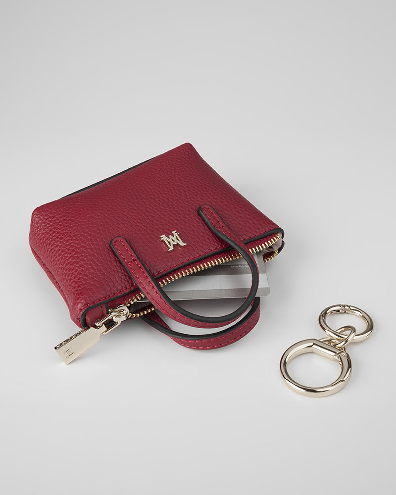 MADISON Millie Mini Tote Coin Purse - Red