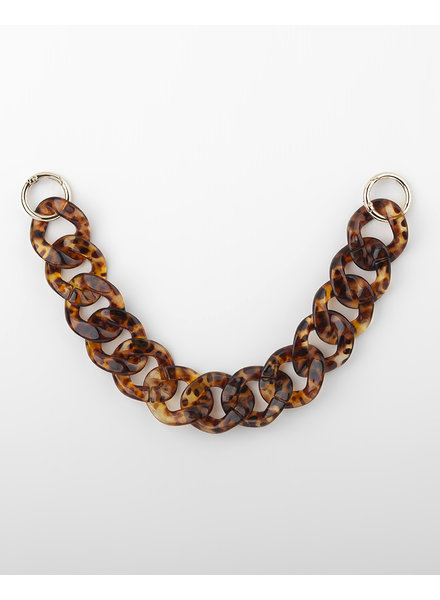 MADISON Rochelle Removable Chain - Tortise Shell