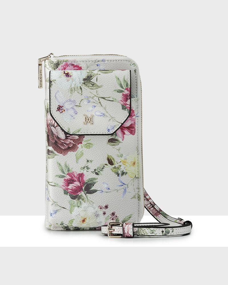 MADISON Hallie Large Tech Wallet Sling - Botanic Floral