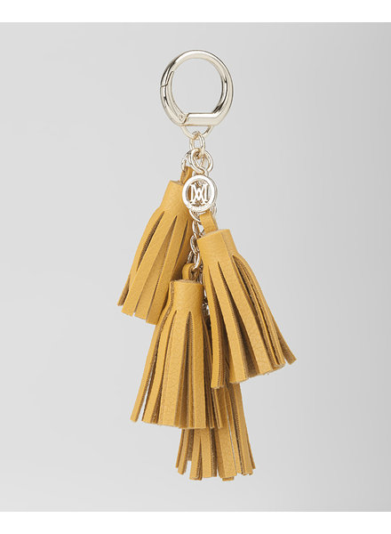 MADISON Rebecca 4 Tassel Key Chain - Yellow