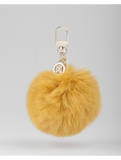 MADISON Holly Fur Pom Pom Clip on - Yellow