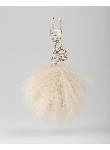 MADISON Holly Fur Pom Pom Clip on - Blush
