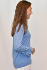 Repeat Cashmere Shirt with Ruffle Sleeves