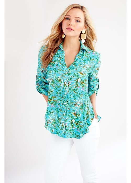 Finley Shirts Agatha Roll Sleeve Kyoto