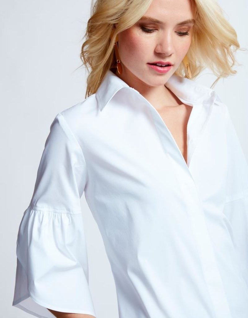 Finley Shirts Birdie Draped Drop Sleeve Shirt