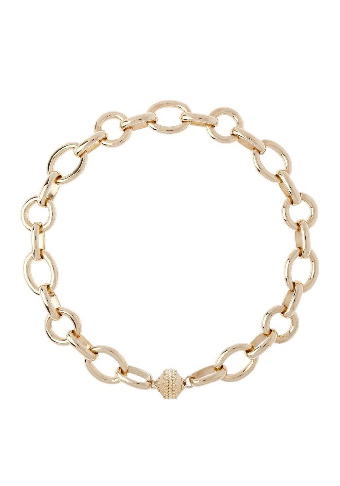 """Clara Williams """"Gold Coast"""" 14K Plated Chain Necklace"""