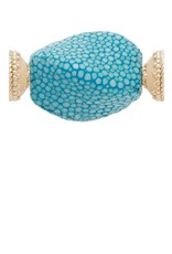 CWC Jewelry Stingray Teal Centerpiece