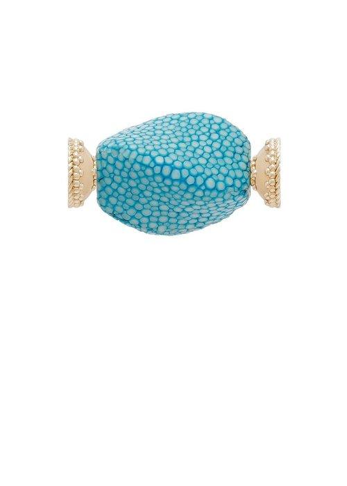 CWC Jewelry Stingray Teal Centerpiece
