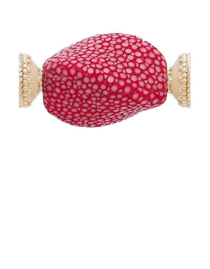 CWC Jewelry Hot Pink Singray Centerpiece