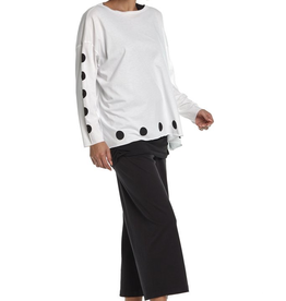 PLANET by Lauren G Polka Dot Boxy T O/S