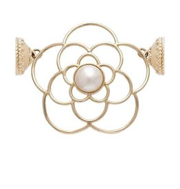 CWC Jewelry De La Rosa 14K and White Pearl Centerpiece
