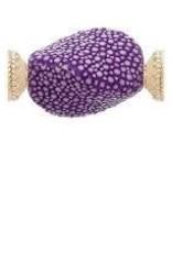 CWC Jewelry  Stingray VioletCenterpiece