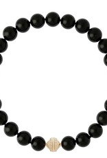 CWC Jewelry Victoire Black Adgate 16mm Necklace