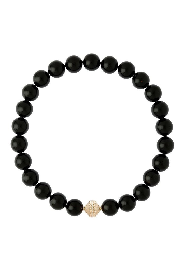 Victoire Black Adgate 16mm Necklace