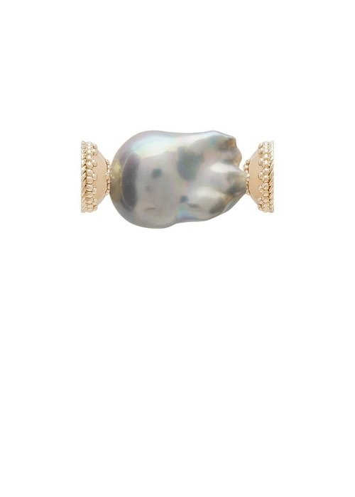 Clara Williams Clara Williams Freshwater Grey Baroque Pearl