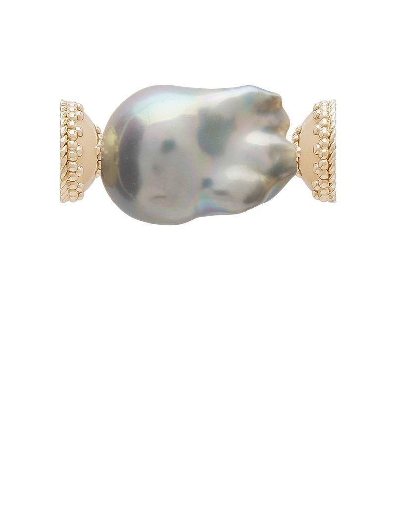 CWC Jewelry Freshwater Grey Baroque Pearl