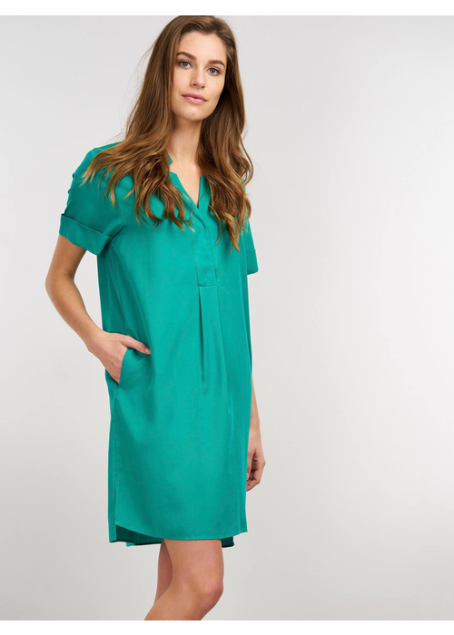 Repeat Cashmere Repeat Dress with Pockets in Tencel Fabric