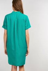 Repeat Cashmere Dress with Pockets in Tencel Fabric