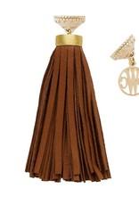 CWC Jewelry Sedona Black Leather Tassel