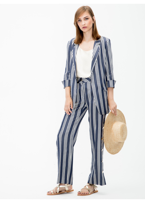 Vilagallo Clover Jacket in Stripes