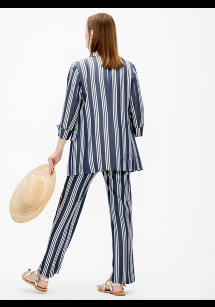 Clover Jacket in Stripes