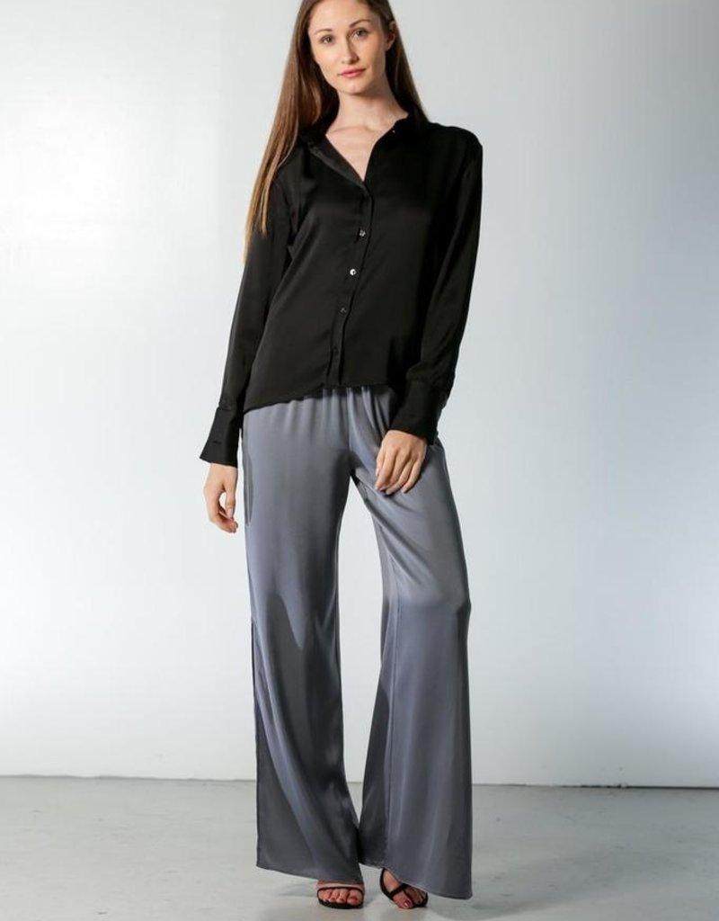 "Nouvelle Palm Beach Silk Shirt ""Oxford"""