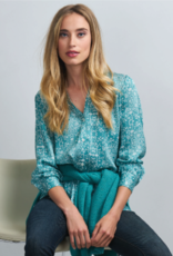 Repeat Cashmere Pattern Blouse Floral Print