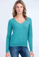 Repeat Cashmere Cashmere V-Neck Sweater 100% Cashmere