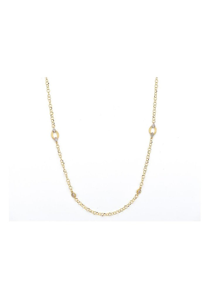 Provence Alternating Marquis Delicate Necklace