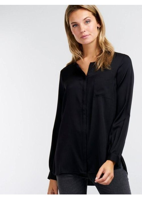 Repeat Cashmere Blouse 68% Silk, 25% Viscose, 7% Elasthane