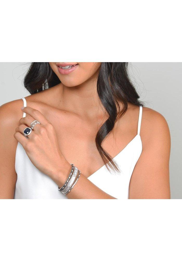 Jude Frances Silver Delicate Bracelet