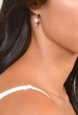 Jude Frances 18K White Gold, Large Lisse Pearl Charm