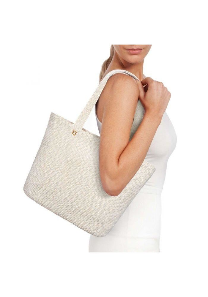 Squishee Tote White Mix