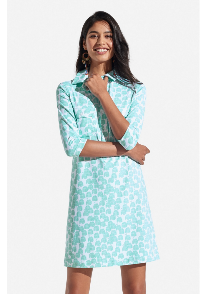 Persifor Winpenny Dress - Cabana