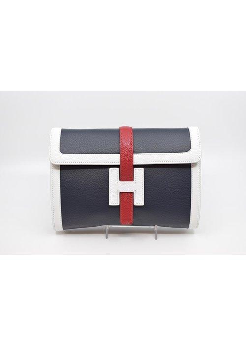 Stephano Bravo Stefano Bravo H-bag in Navy, Red and White