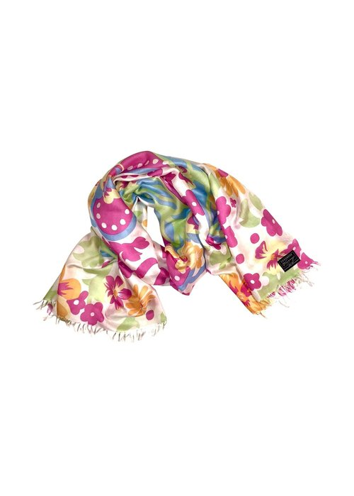 SCARVES Cashmere Wrappings Motif