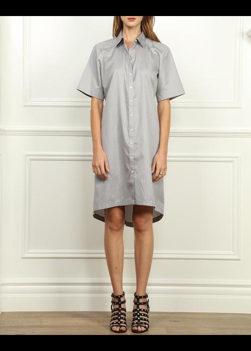 """Hinson Wu Hinson Wu """"Lori"""" Dress Cut in Luxe Cotton"""