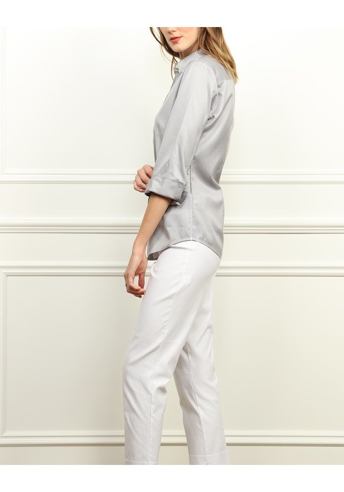Hinson Wu Clarice Shirt in Luxe Cotton