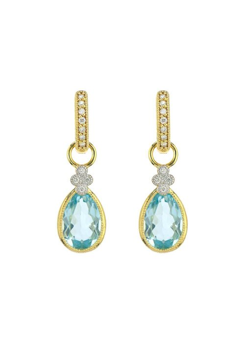 Jude Frances Jude Frances Blue Topaz Pear Provence Charms