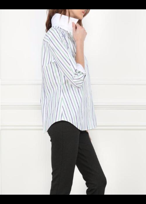 Hinson Wu Hinson Wu 3/4 Sleeve Diane Shirt