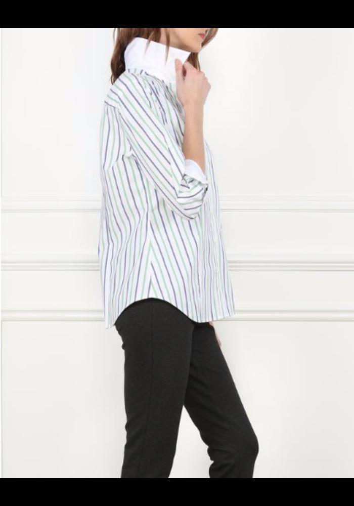 Hinson Wu 3/4 Sleeve Diane Shirt