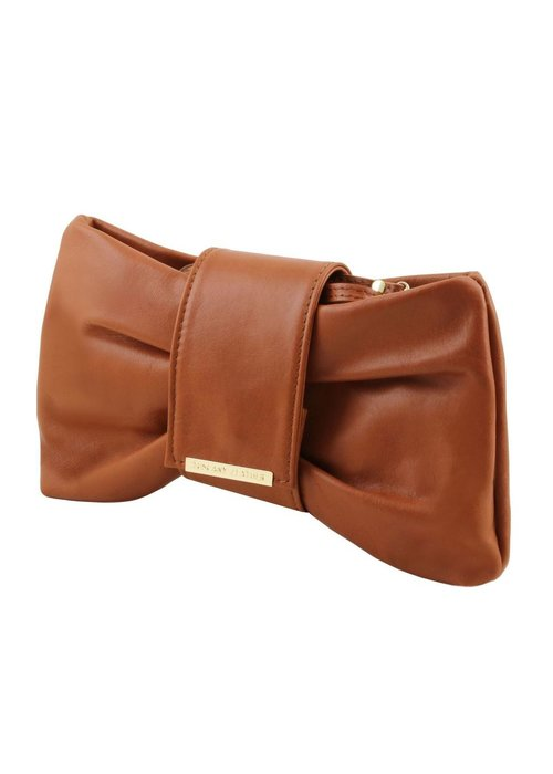 Tuscany Leather Tuscany Leather Priscilla Cluth Leather Hangbag