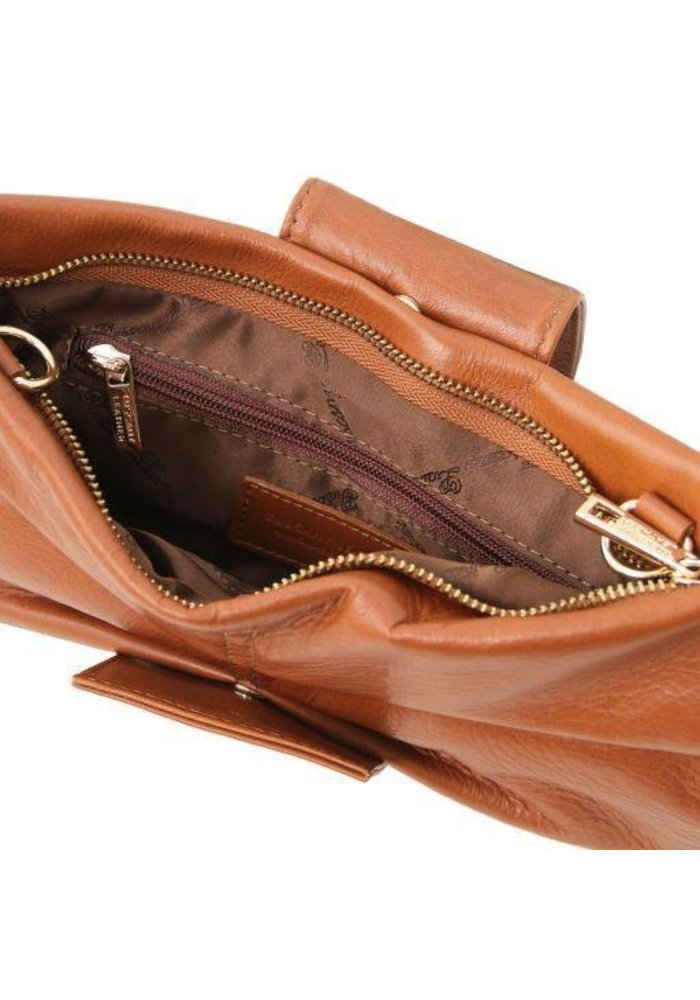 Tuscany Leather Priscilla Cluth Leather Hangbag