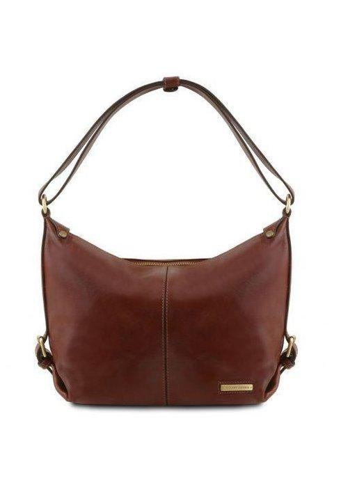 Tuscany Leather Tuscany Leather Sabrina Leather Hobo Bag