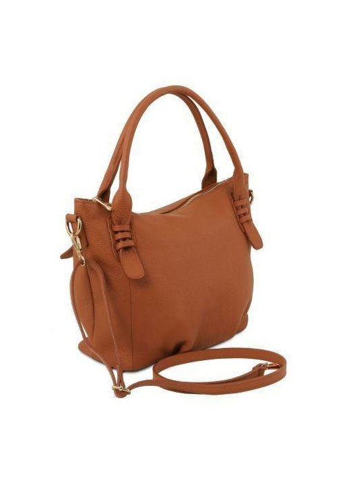 Tuscany Leather Tuscany Leather Soft Leather Handbag
